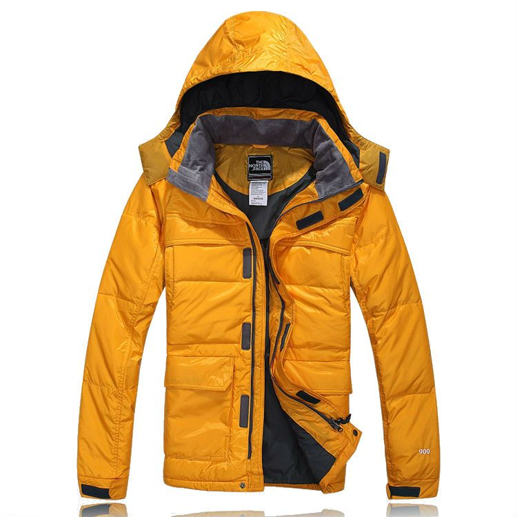 2ec853c348f5 North Face Mens 900 Down Jacket Yellow Outlet
