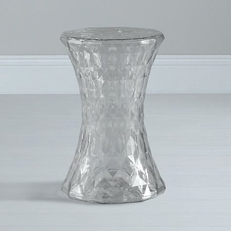 Marcel Wanders For Kartell Stone Stool Crystal Home