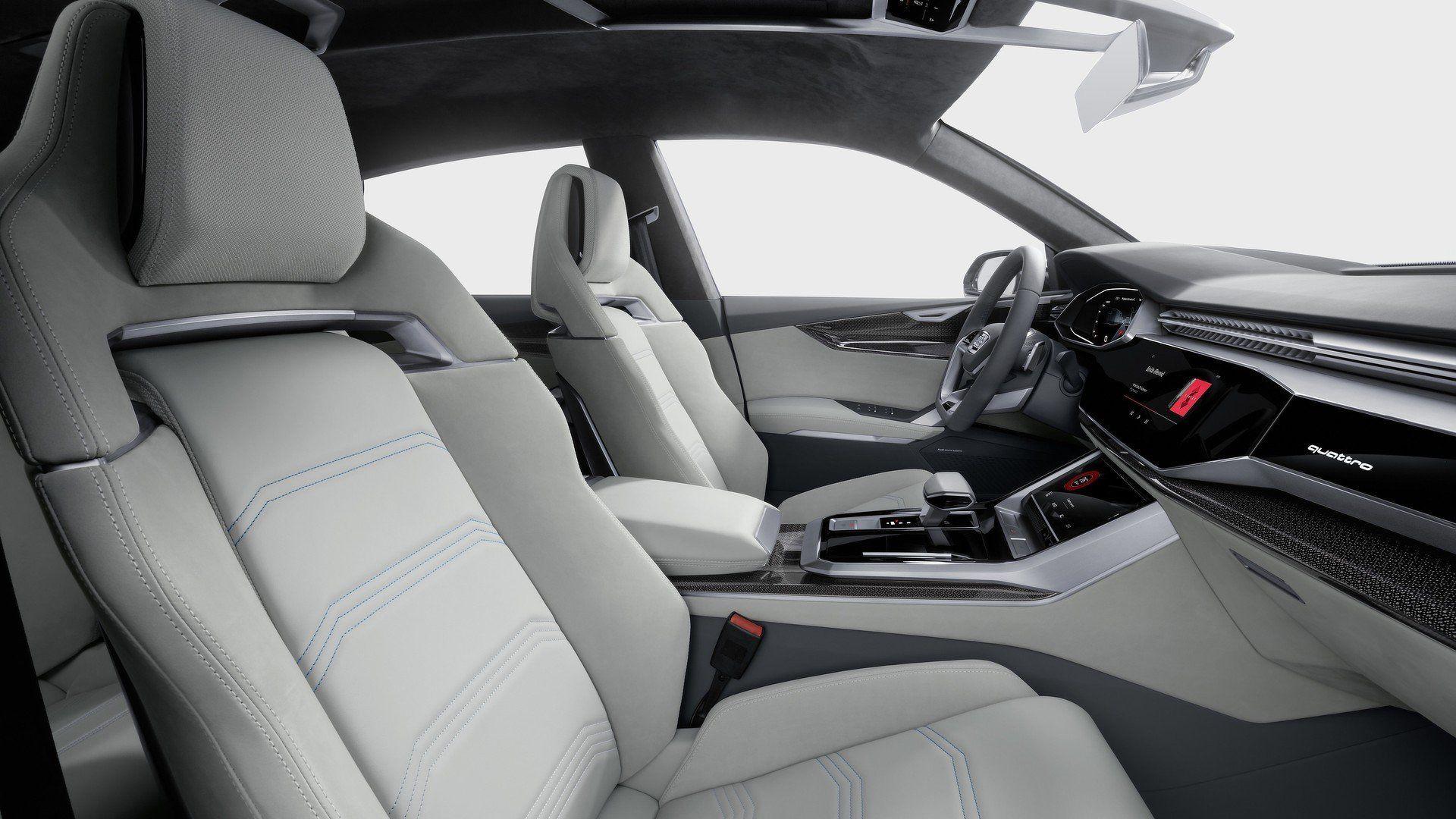 Audi Q8 Intérieur audi cars audiq8 detroit2017