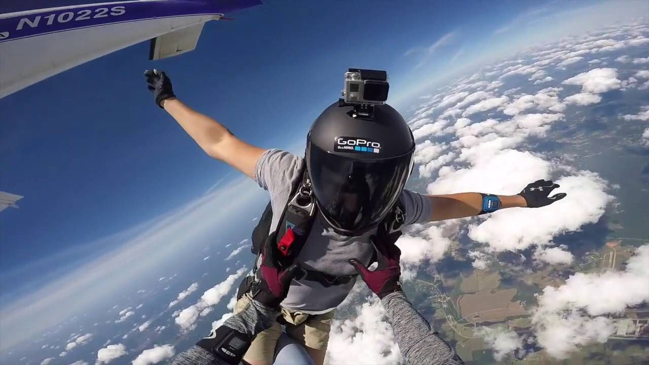 100 Jumps In Skydive Edit Video Skydiving Jump Edit