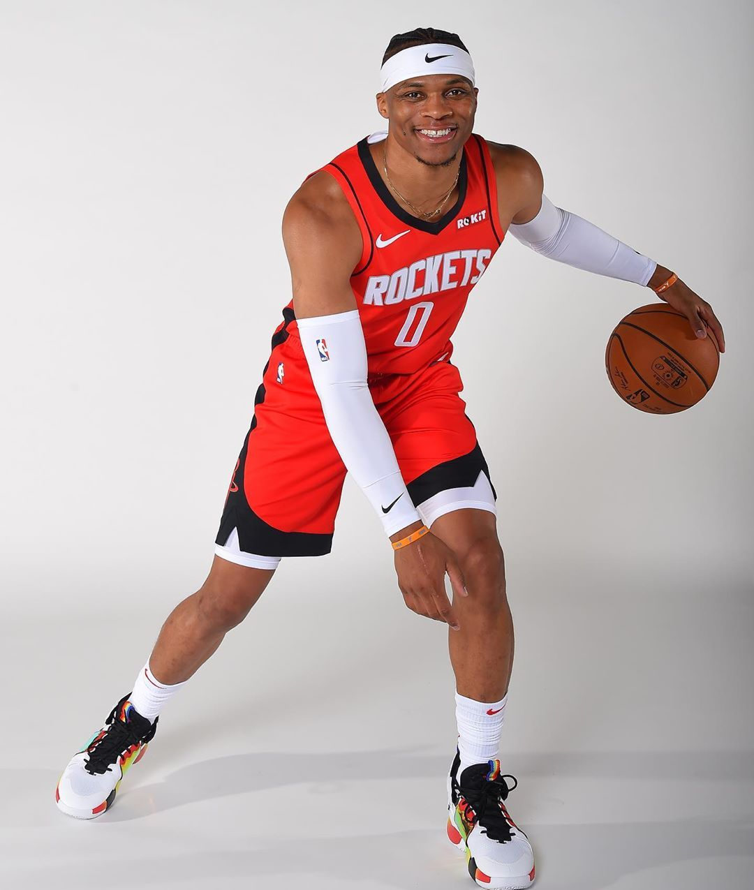 Image May Contain One Or More People People Playing Sports And Shoes Basketball Players Nba Russell Westbrook Westbrook