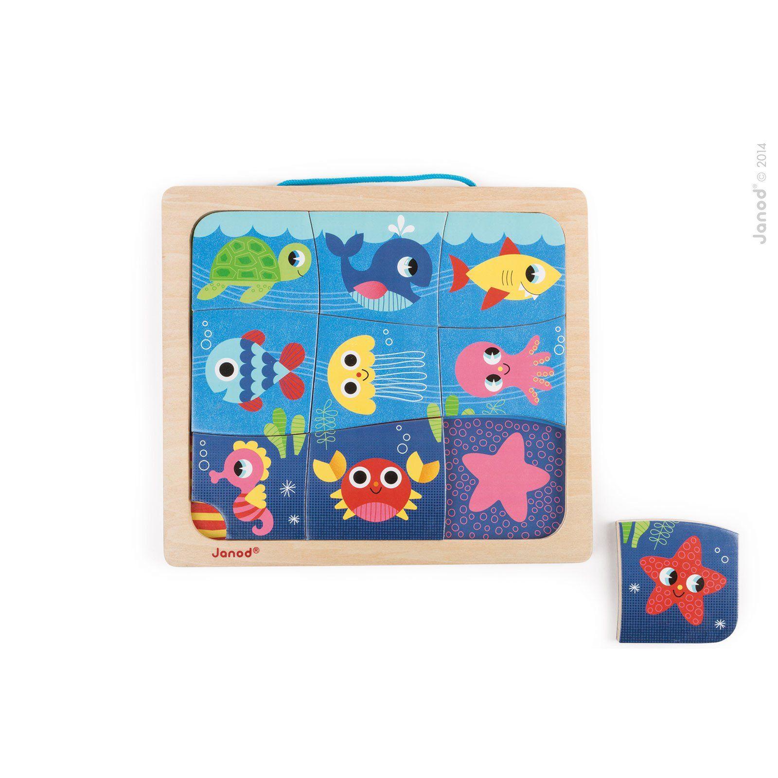 Janod Happy Fish Magnetic Puzzle