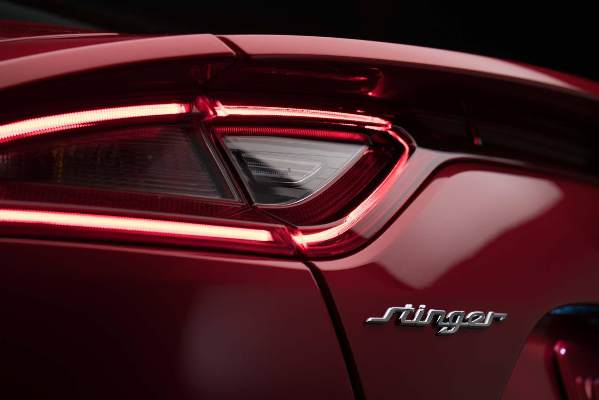 Your Next Car Should Be Green Kia Stinger Kia Car