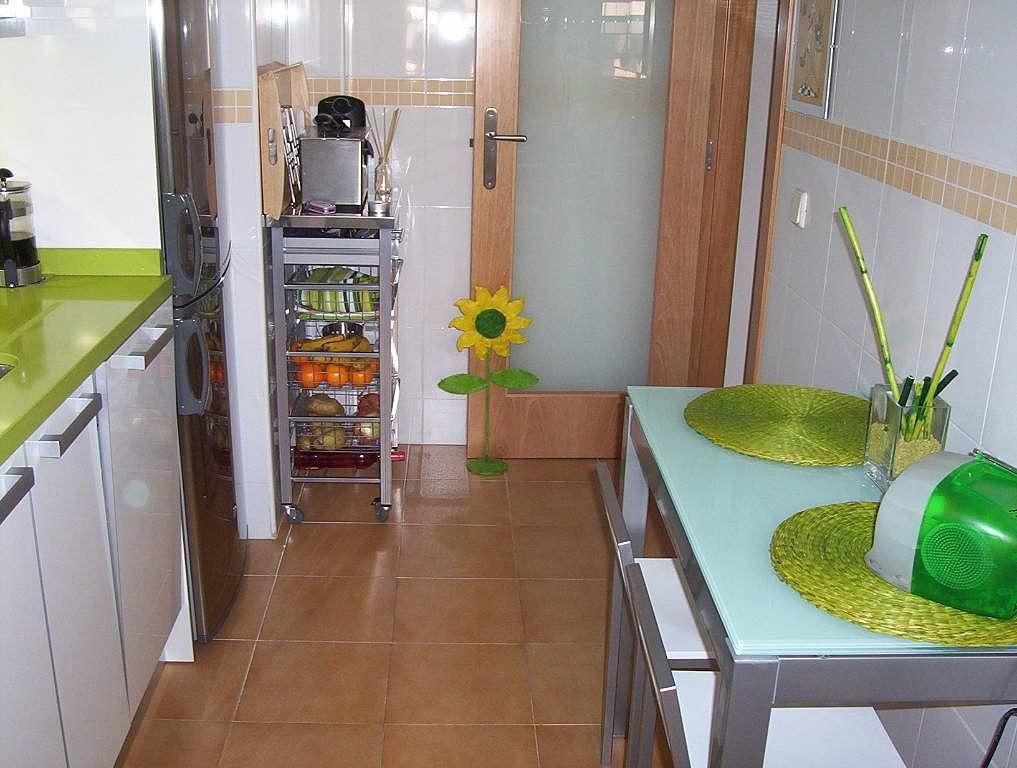 Cocina peque a y alargada reformas ideales hogar actual - Amueblar cocinas pequenas ...