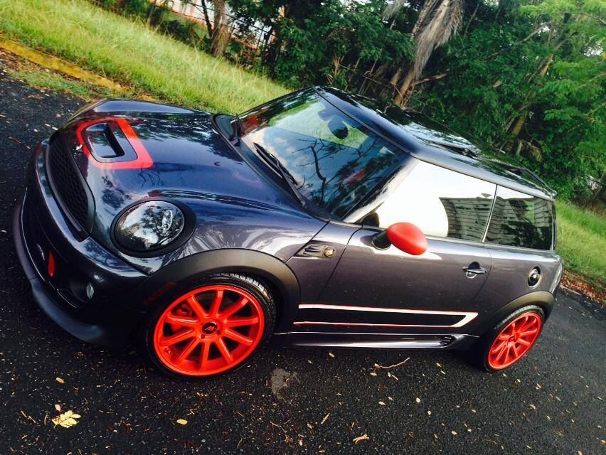 Mini Cooper S Tuning Kit John Cooper Works Grey Black Rooforange