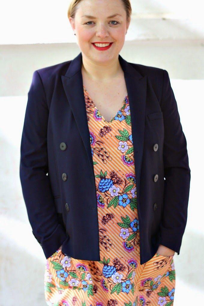 HEDI: Frau Ida als Kleid! | schnittmuster mama | Pinterest