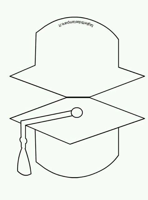 ms y ms manualidades Invitaciones para graduacin muy fciles de