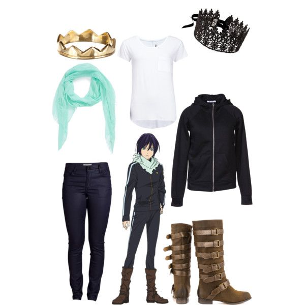 Anime Characters Easy To Cosplay : Casual cosplay of yato from noragami anime series