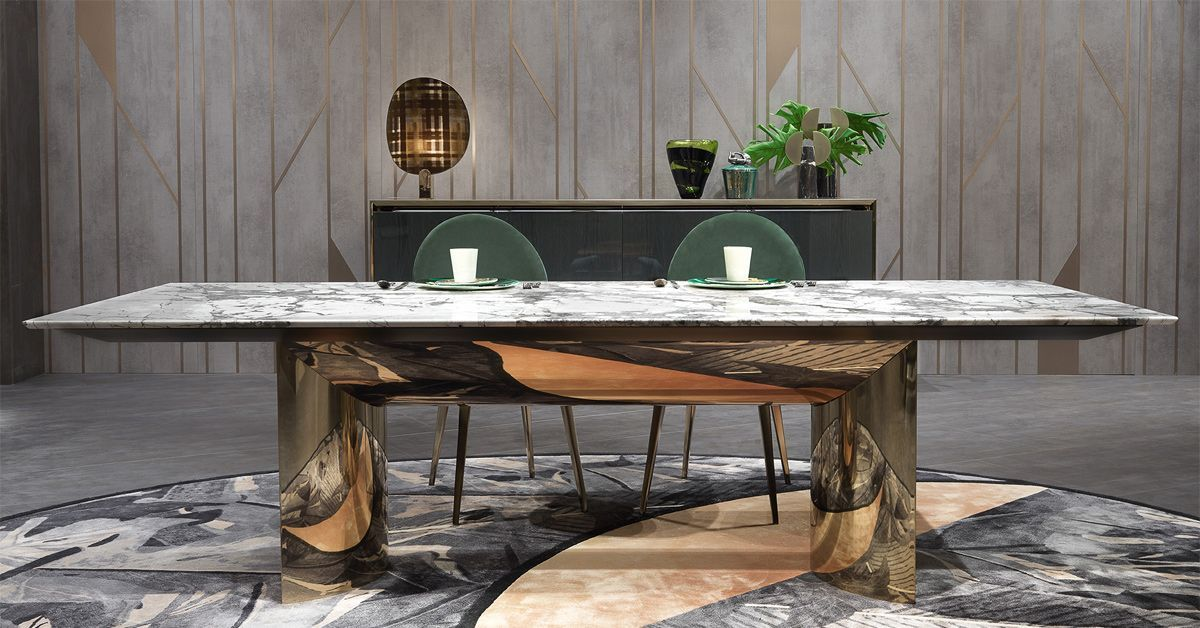 Kerwan By Visionnaire Archello Marble Dining Dining Table