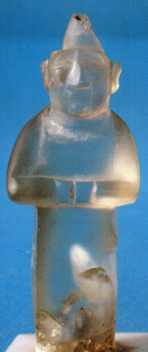 The Hettiters, Mountain crystal, Tarsus-Gözlükule, Adana Arkeoloji Müzesi…