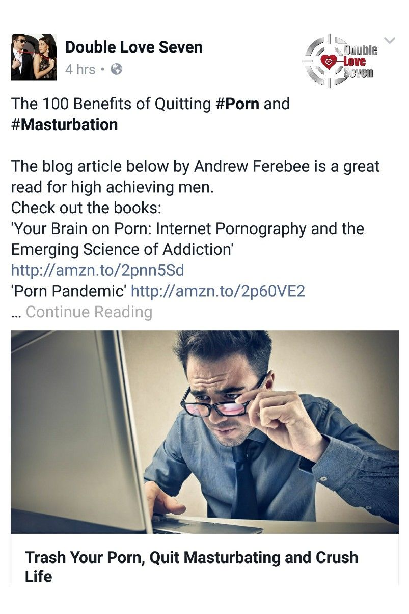 Benefits of quitting masturbation
