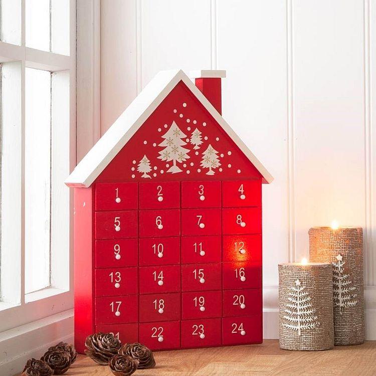 Kilka Pomysłów Na Kalendarz Adwentowy Hedonizm I Eskapizm Advent Calendar House Advent House Wood Advent Calendar