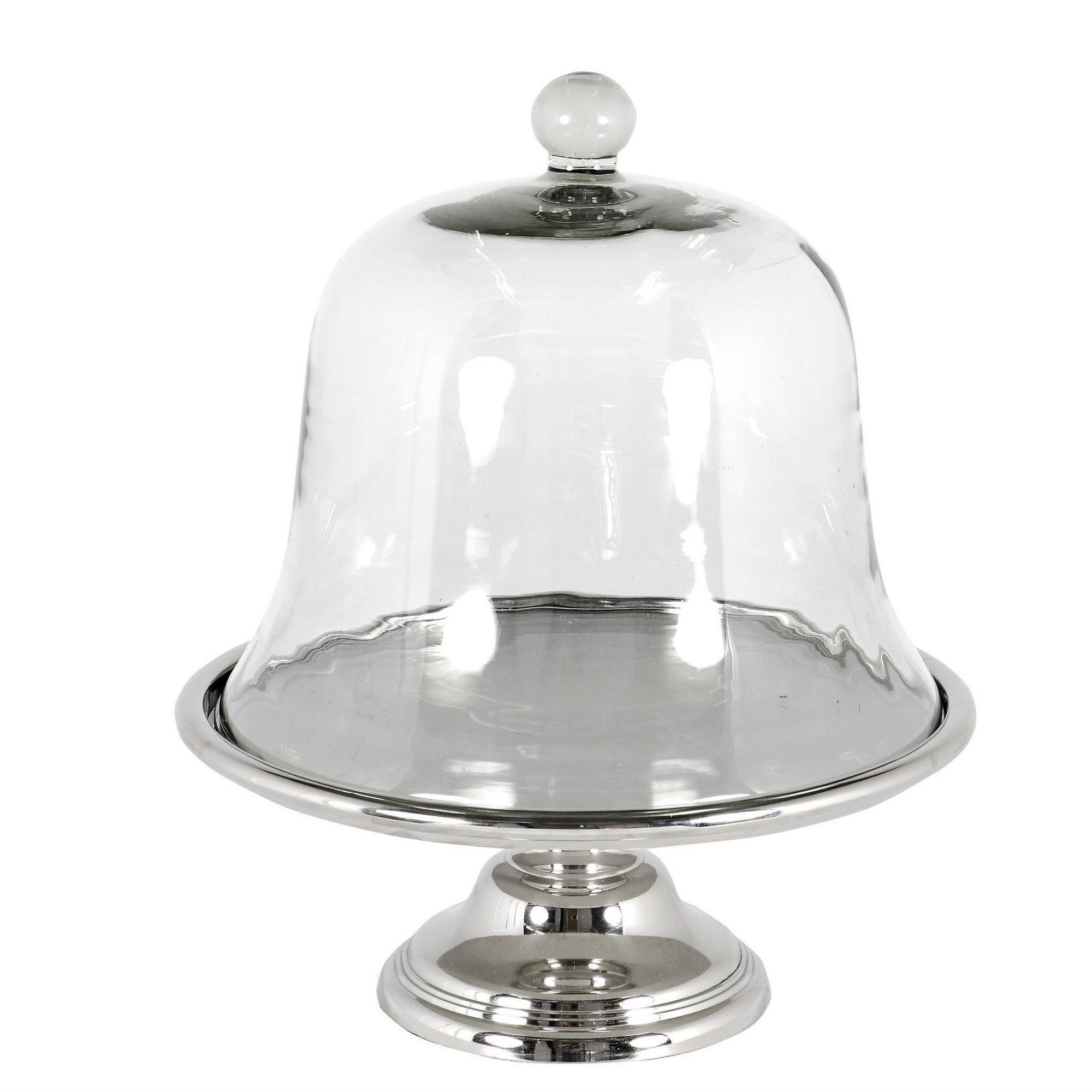 Glass cake stand eichholtz clear glass cake stand