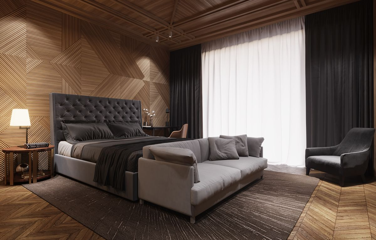 Renders 3d For Master Bedroom Project: 3D Rendering Of Hotel Rooms On Behance