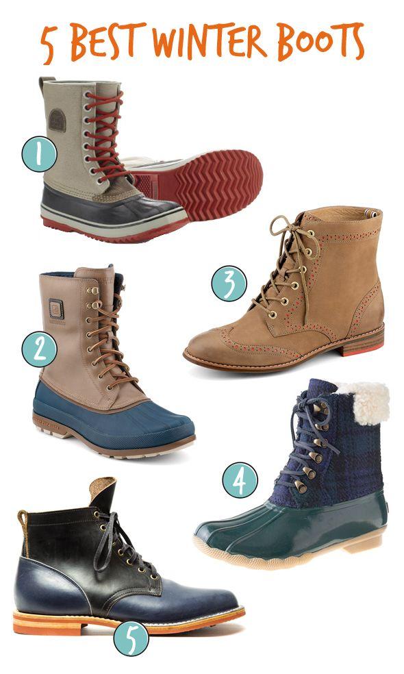 5 Best Winter Boots   Boots, Best