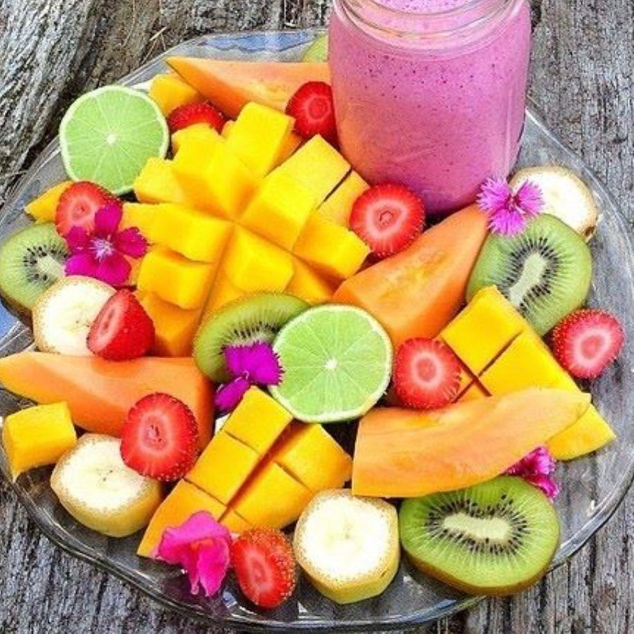 Taste the rainbow #lunchtime #yumyum #KOAswim