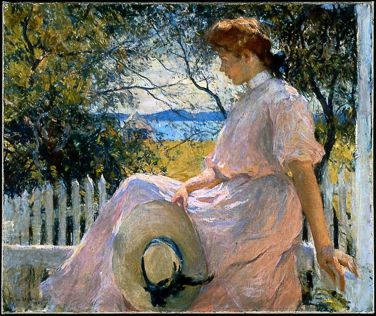 Eleanor Frank Weston Benson 1907 Museum Of Fine Arts