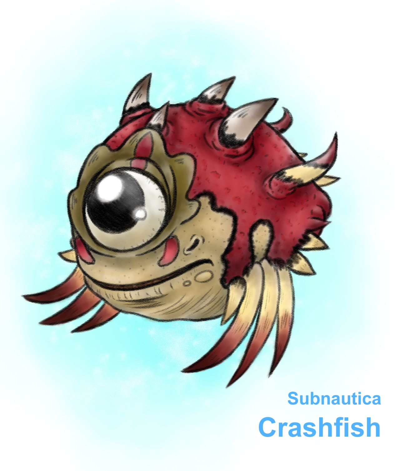 Crashfish Subnautica Subnautica Concept Art Zombie Lover Cool Monsters Subnautica how to find scanner room fragments subnautica is a under water survival game and heres a beginners guide how. subnautica concept art