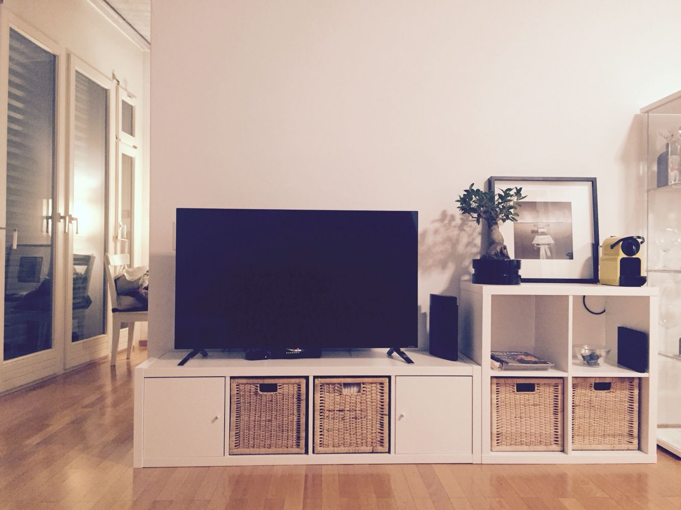 Tv möbel ikea birke  Another look at that IKEA shelf. | Sala | Pinterest | Wohnzimmer ...