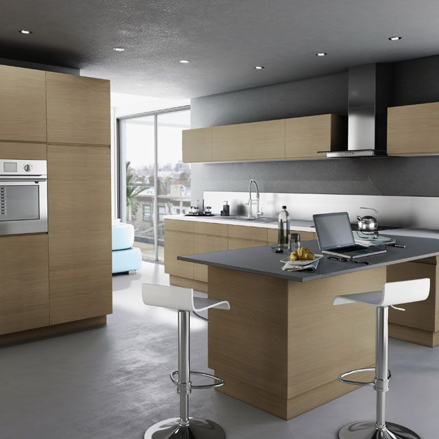 cuisine ch ne clair epura cooke lewis castorama kitchin. Black Bedroom Furniture Sets. Home Design Ideas