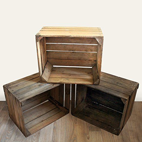 3 X Vintage Apple Crates 40x30x20 28 I Can T Remember What