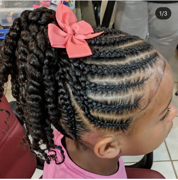 Super Cute Natural Hairstyles For Kids Braids For Kids