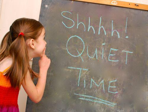 Childrens Quiet Time