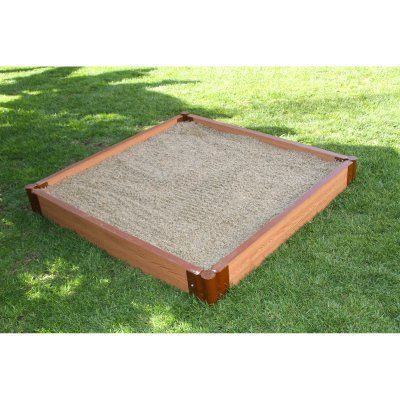 Frame It All One Inch Series Composite Square Sandbox Kit ...