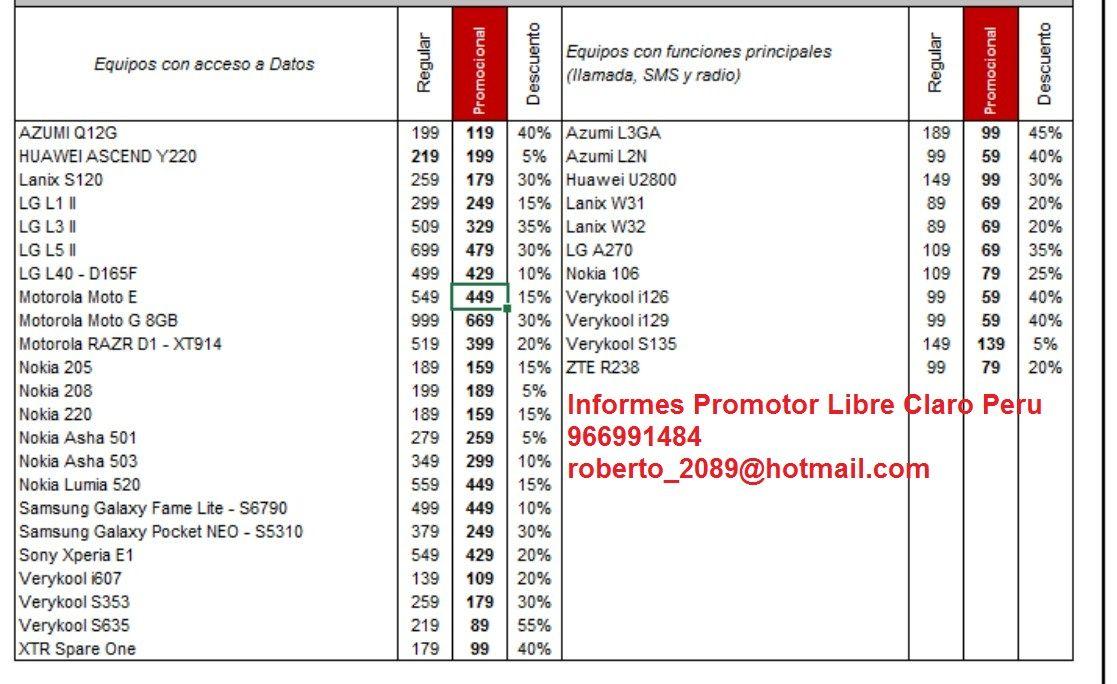 Smartphones Prepago  Mes: Agosto 2014 Plan Postpago Coneccion: http://goo.gl/3p7wDP