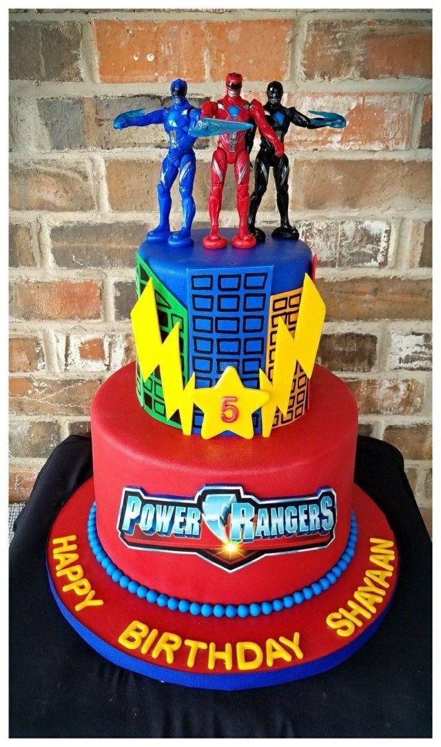 Prime 27 Pretty Photo Of Power Ranger Birthday Cake Met Afbeeldingen Funny Birthday Cards Online Alyptdamsfinfo