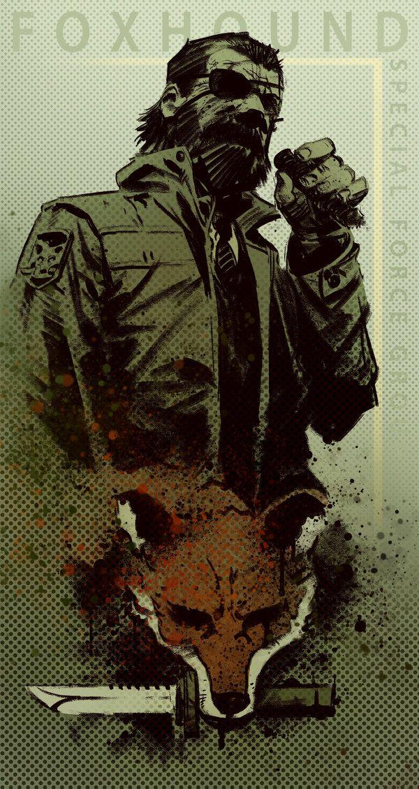 Foxhound Big Boss Metal Gear Metal Gear Metal Gear Games