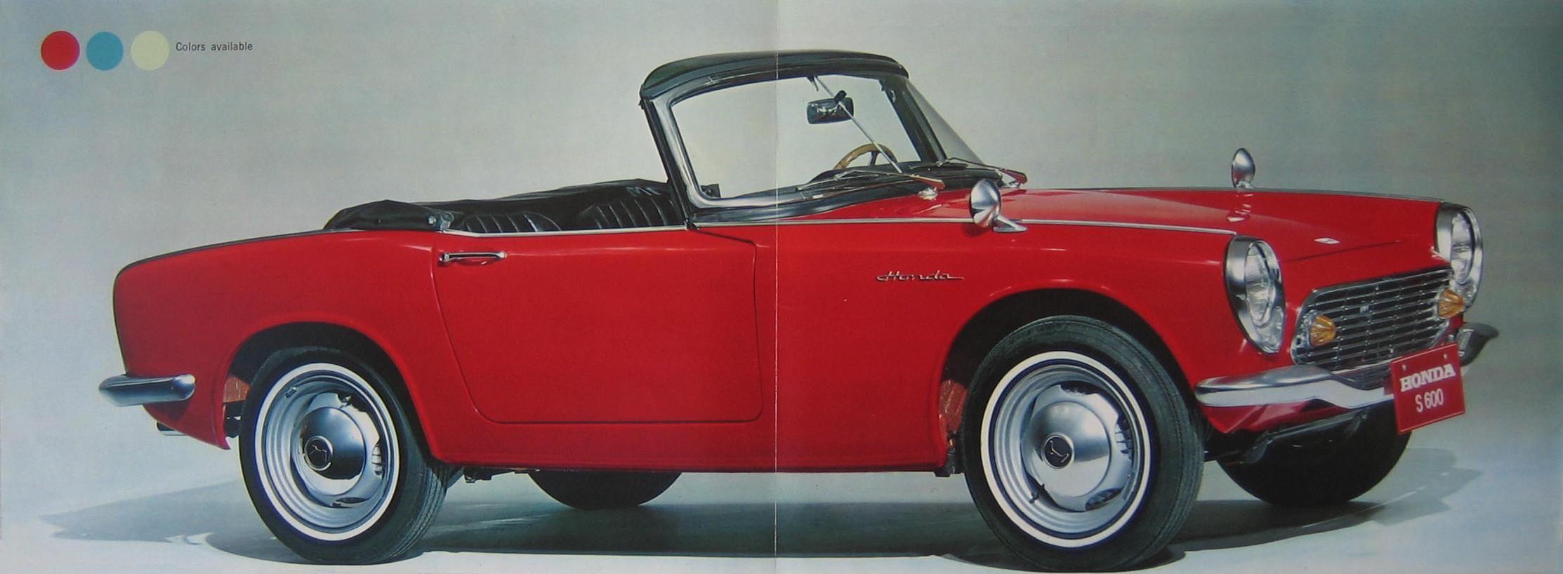 89d2914c44 1964 HONDA S600 brochure.GB 03+04
