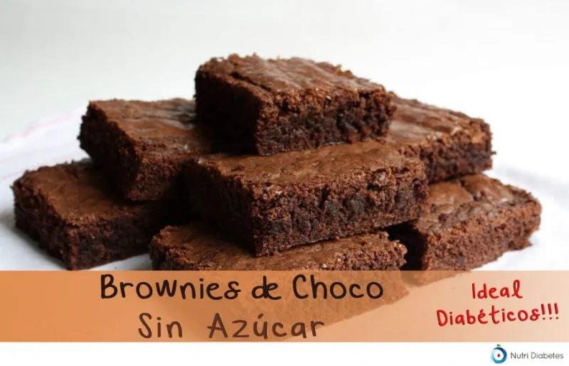Brownie Para Diabéticos Nutri Diabetes En 2020 Postres Postres Divertidos Recetas De Postres