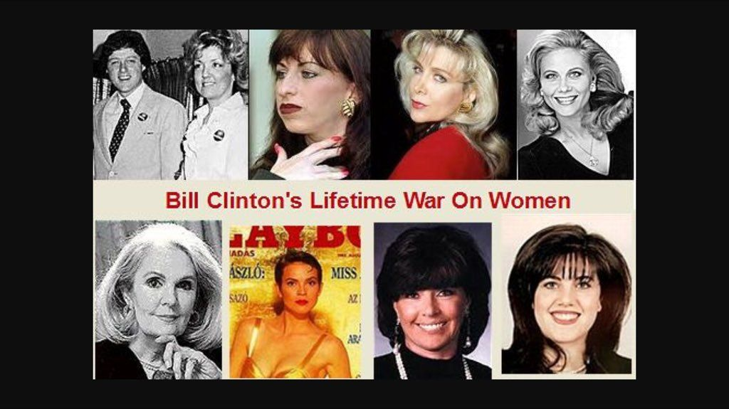 BUSTED!!! HILLARY CLINTON 'COVERING UP 27 SEXUAL ASSAULTS' FOR 'RAPIST BILL'
