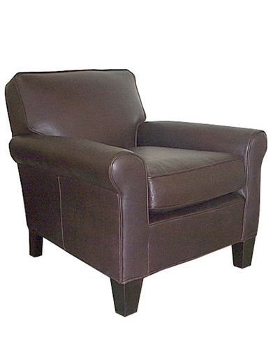 Attrayant {mitchell Gold + Bob Williams} LOLA LEATHER CHAIR