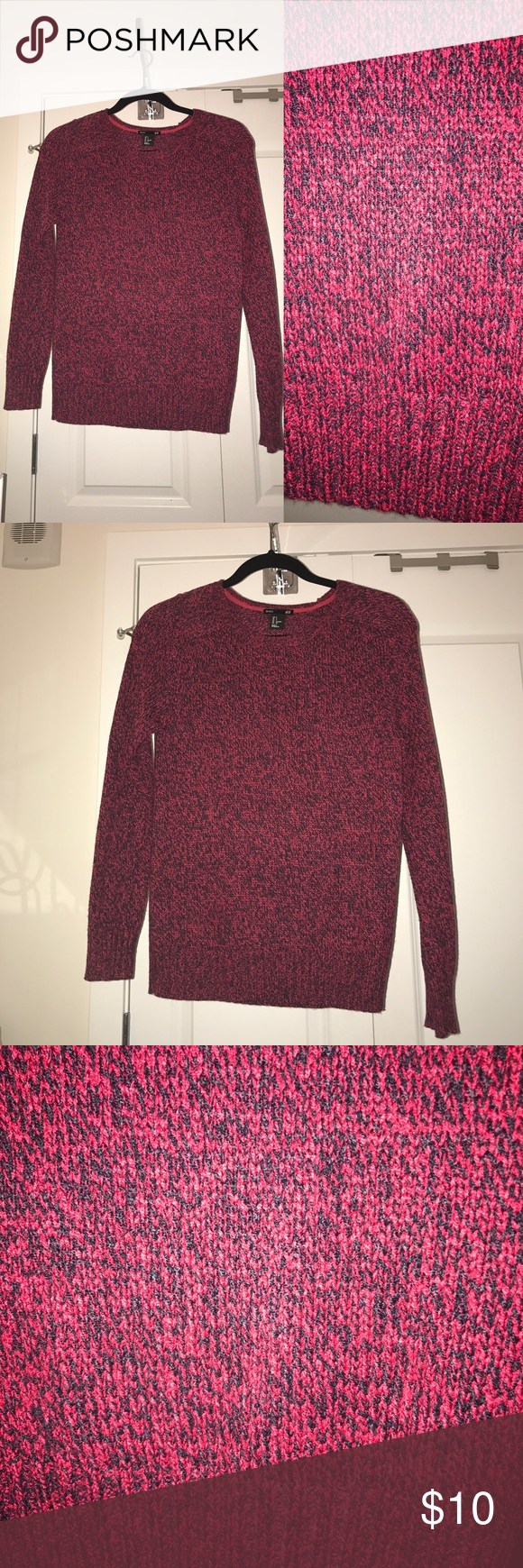Pink and purple sweater by H&M | Purple, Conditioning and Customer ...