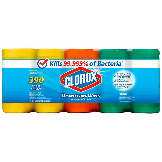 Clorox Disinfecting Wipes 5 Pack With Images Disinfecting