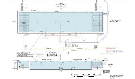 piscine naturelle plan technique layout siteplan piscine plan piscine terrasse piscine