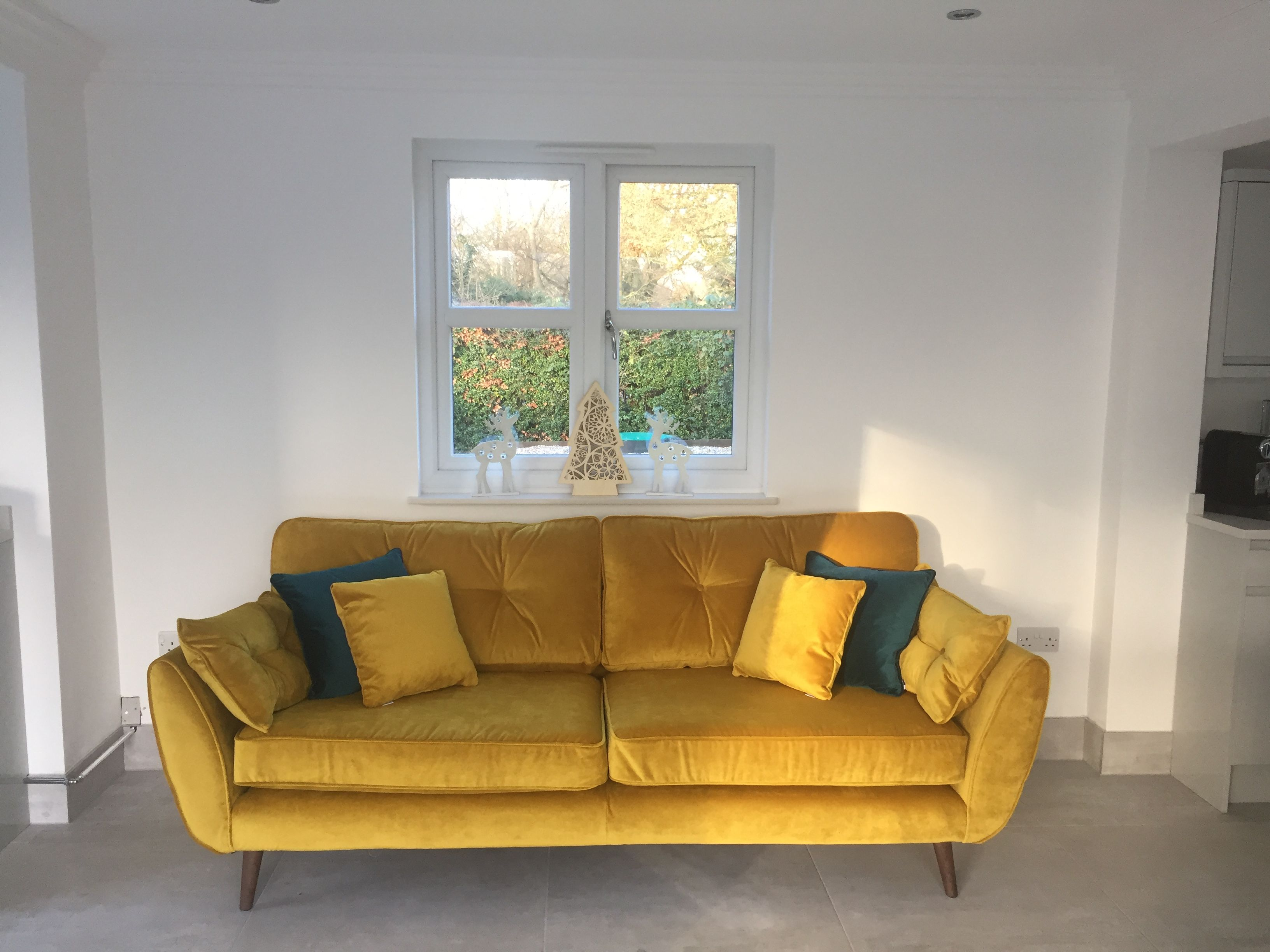 Dfs Sofa Zinc Yellow Velvet Dfs Zinc Sofa Dfs Sofa Living Room Diy
