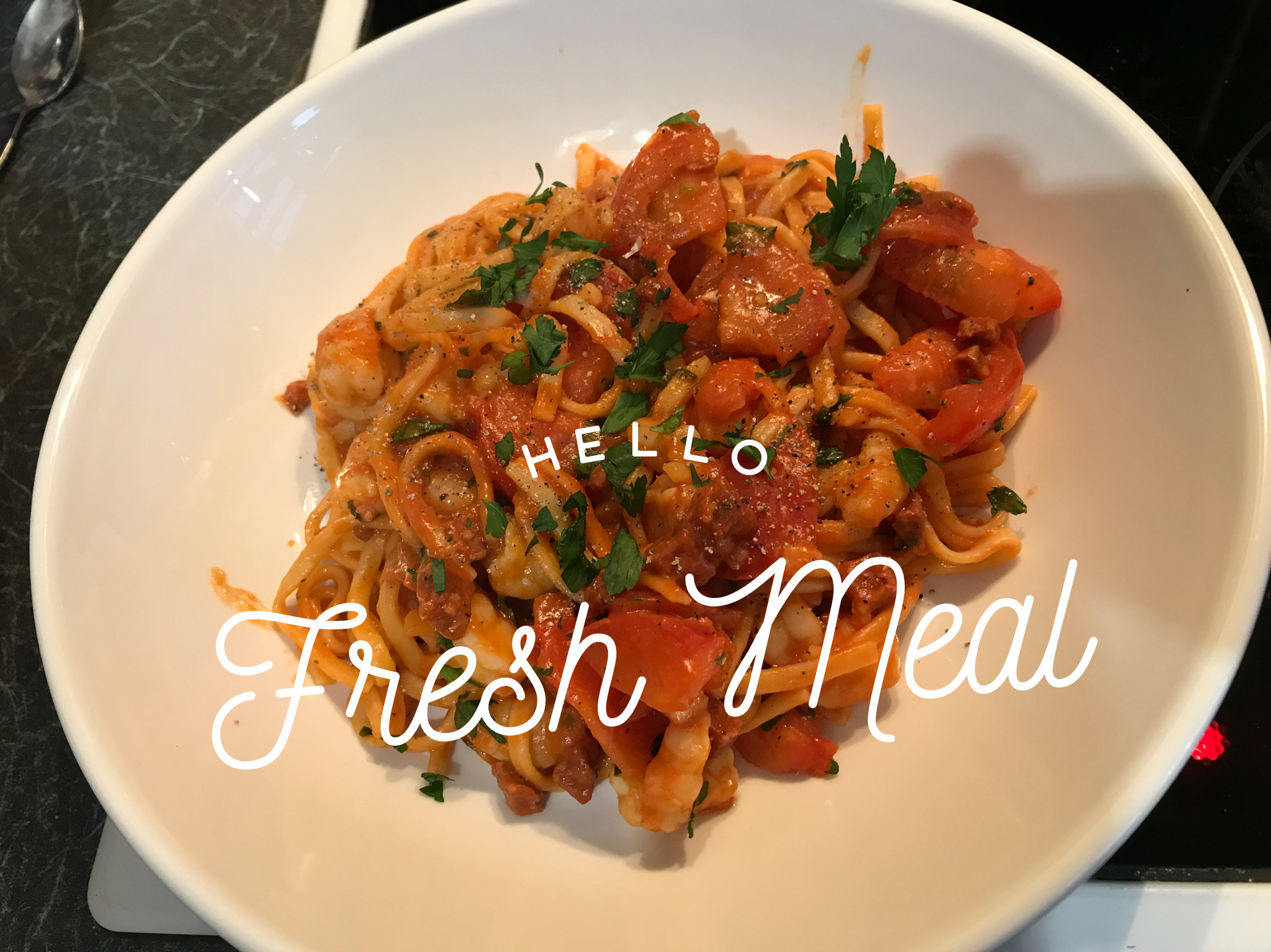 Another lovely meal tonight #hellofreshsnaps #fit15