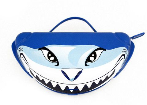 is the coolest design in the Chomp! Order now to get this kids snack lunch and dinner plate today!  sc 1 st  Pinterest & Shark Chomp!™ Platainer (Plate \u0026 Container) that makes snack time ...