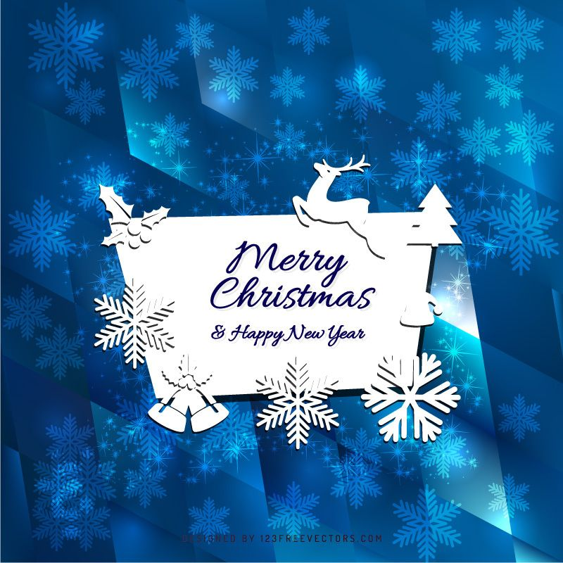 Merry Christmas And Happy New Year Card New Year Card Design