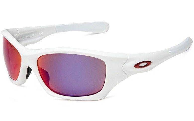 92cbd5bbc3 ... buy oakley pit bull polarized sunglasses matte white oo red iridium  asian oakley 9c6e1 17c0d