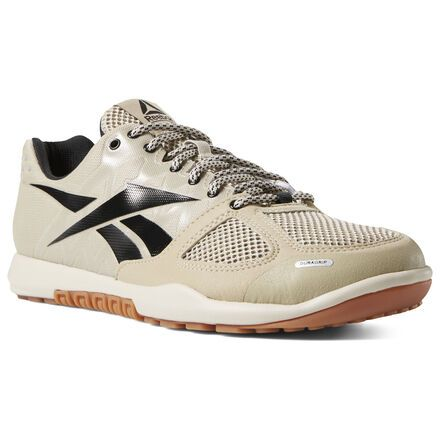 Reebok Shoes Men's CrossFit Nano 2.0 in SandBlackGum Size