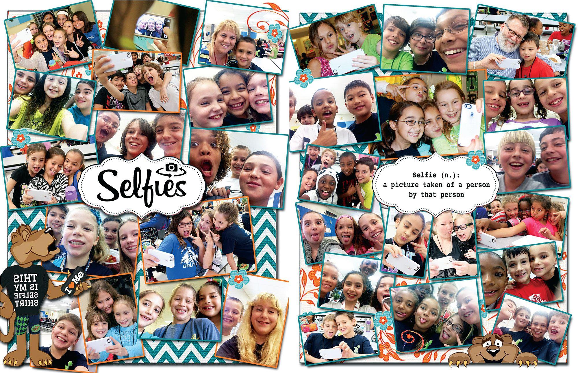 I like the idea of a selfie page i feel like it would make