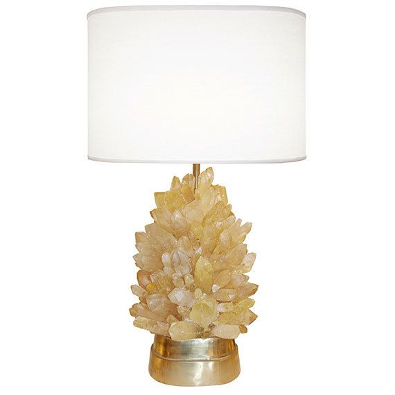 Amber Rock Crystal Lamp Dering Hall With Images Crystal Lamp
