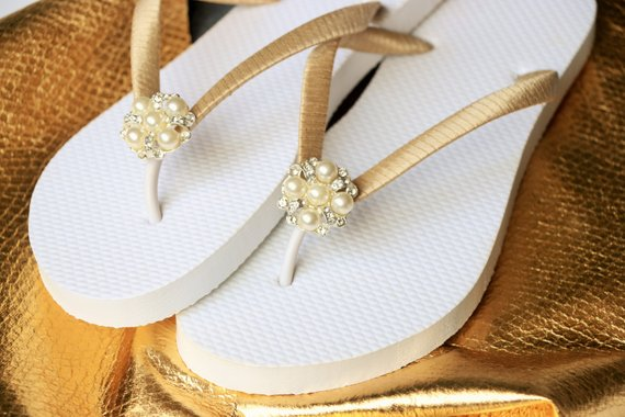 dc7e491026936 BRIDESMAID Flip Flops