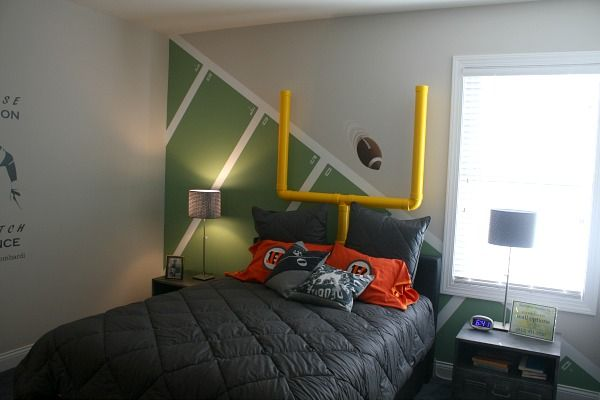 homearama house tour #2: the asheville model | football themes
