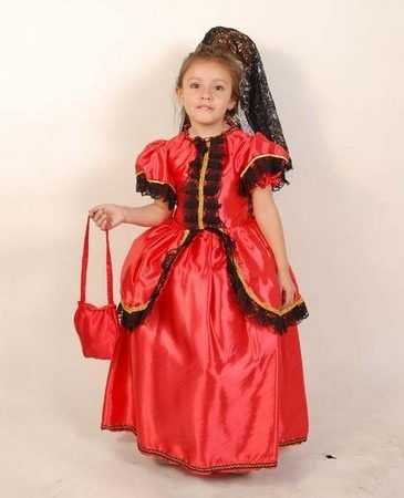 Resultado de imagen para modelo de vestido de dama antigua Disfraz Dama  Antigua Niña 6a31892d30f