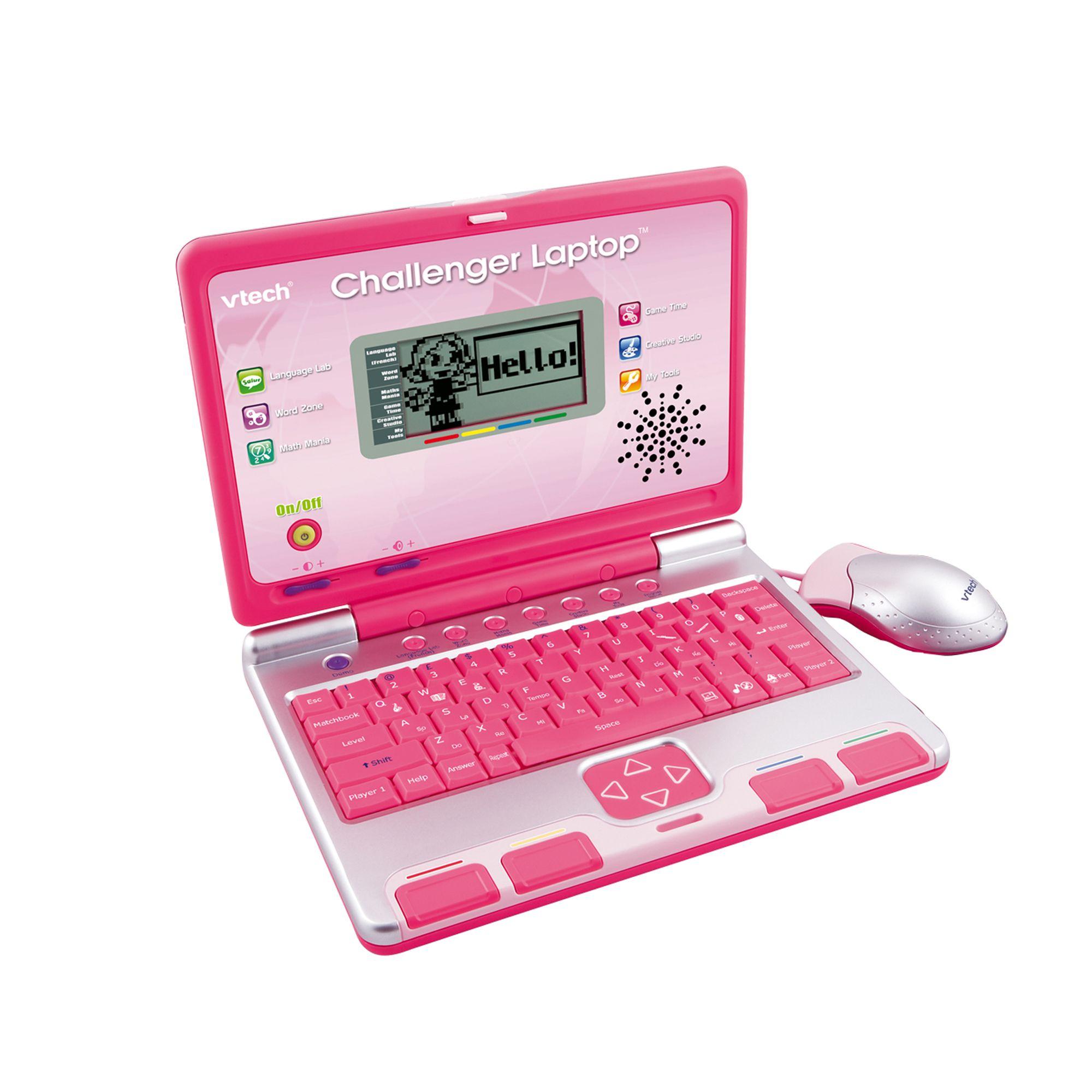 vtech Challenger Laptop Pink The VTech Challenger Laptop